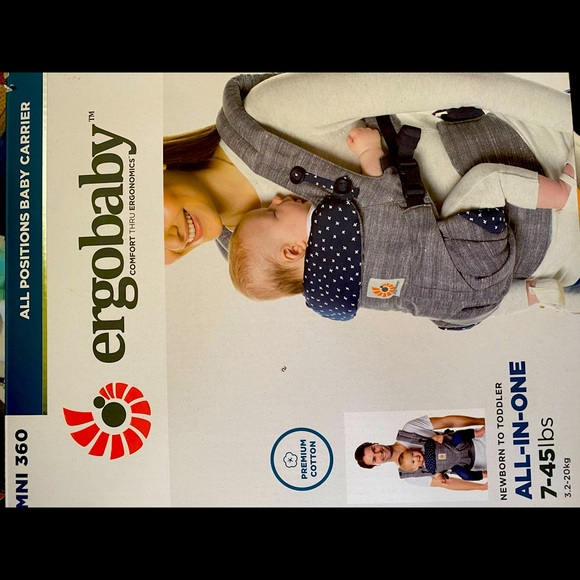 Baby Carrier/360 all positions baby carrier